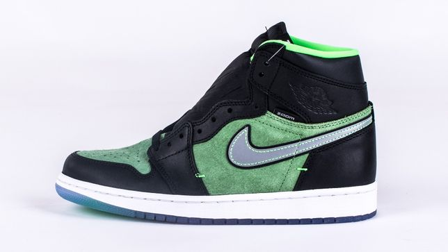 "Air Jordan 1 Zoom ""Zen Green "" Rozmiar 8.5 US - 42"