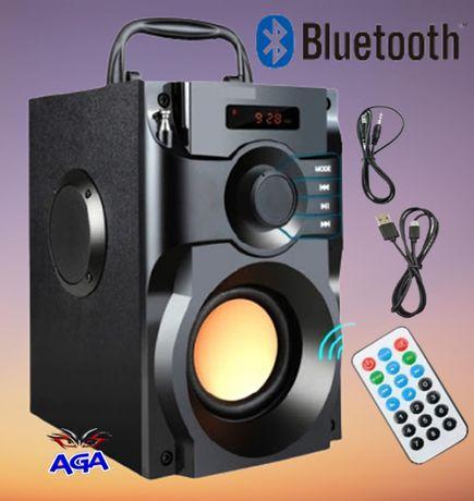 Głośnik A11 Bluetooth BoomBox 2.0 USB SD AUX RADIO FM Pilot
