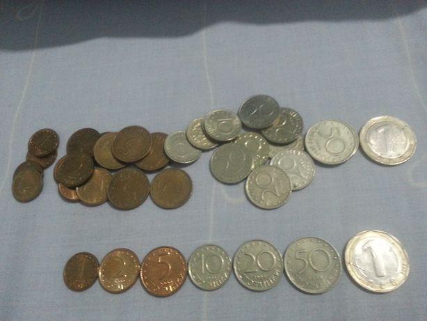 moedas da bulgaria