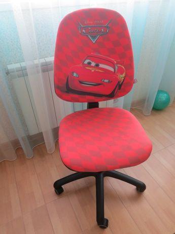 Кресло 2 шт. детское Дисней Тачки Молния Маккуин офисное + Подарок