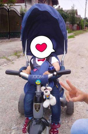 Детский трехколесный велосипед Crosser T-500 (6 в 1)