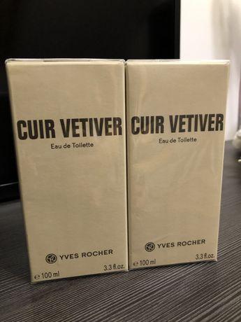 Woda toaletowa Yves Rocher Cuir Vétiver