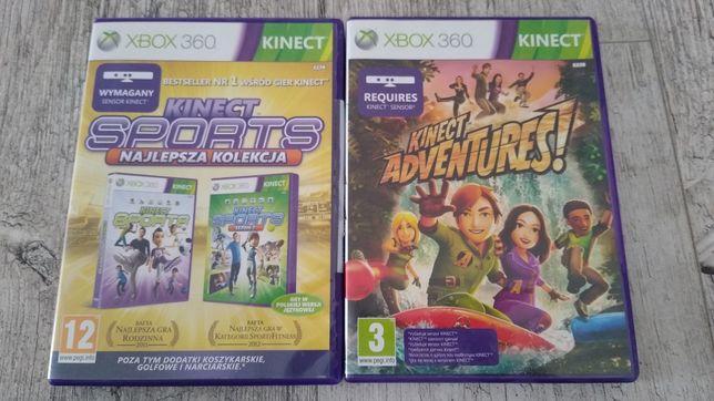 Xbox 360. Zestaw 2 gier na Kinect.