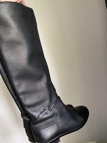 Чоботи шкіряні Сапоги кожаные