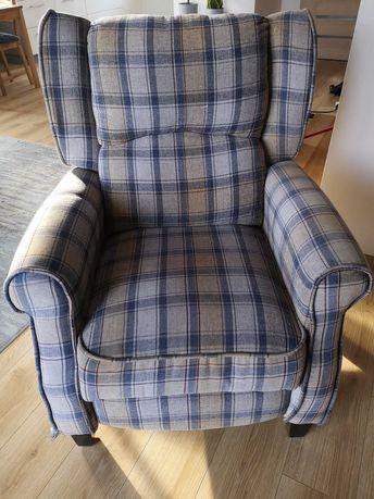 Fotel z funkcją relaksu.