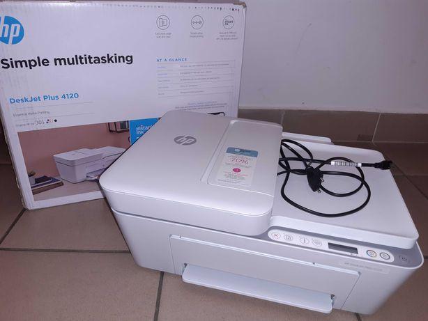 Nowa drukarka HP DeskJet Plus 4120