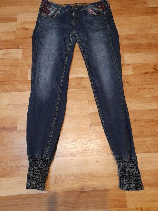 (19) wysylka 5 zł Rurki jeans spodnie pas 84 Tuchola - image 1