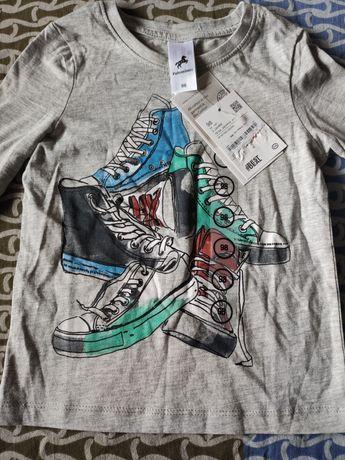 Новый реглан Palomino, лонгслив,футболка с длинным рукавом, свитшот