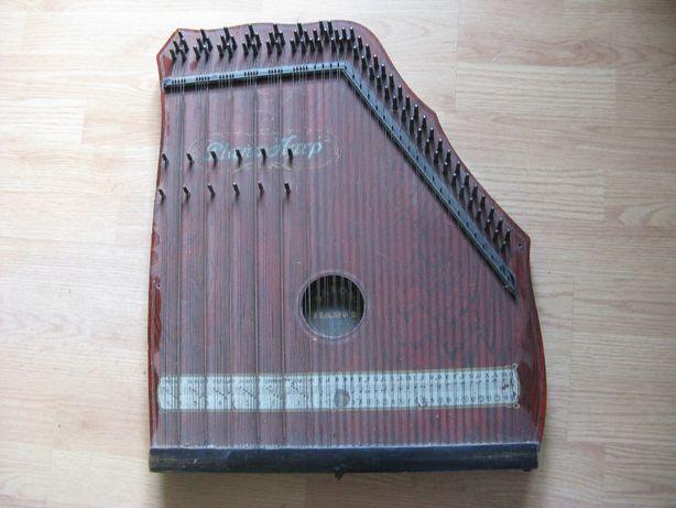stara cytra,harfa,antyk