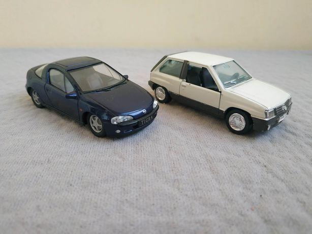 Масштабные модели 1:43 автомобилей Opel. Производство Gama и Schuco.