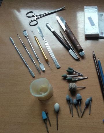 Zestaw narzędzi dla studenta technik dentystycznych Protetyka Protetyk