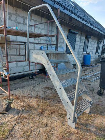 Schody metalowe schodki ocynk