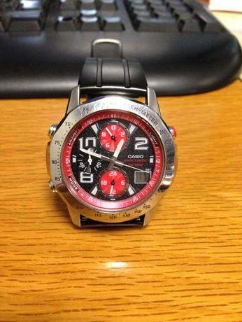 Relógio Casio Dual Time Wave Ceptor - Série limitada