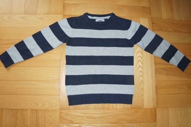 sweter bawełniany Palomino r. 116 wkładany przez głowę wizytowy