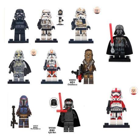 Новые фигурки Star Wars звездные войны, железный человек для lego лего