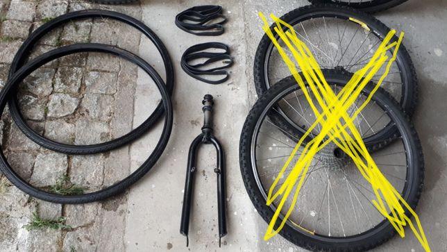 Bicicleta material variado