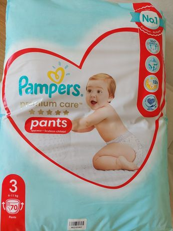 Продам Pampers premium care pants 3, 70 штук