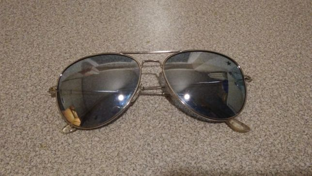 Okolary przeciwsłoneczne lustrzanki Zamienię