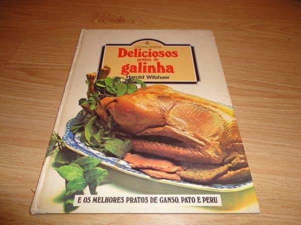 Livro de receitas deliciosos se galinha