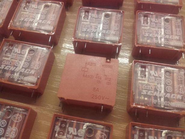 Przekaźnik SCHRACK RP010024, 24V 8A/250V