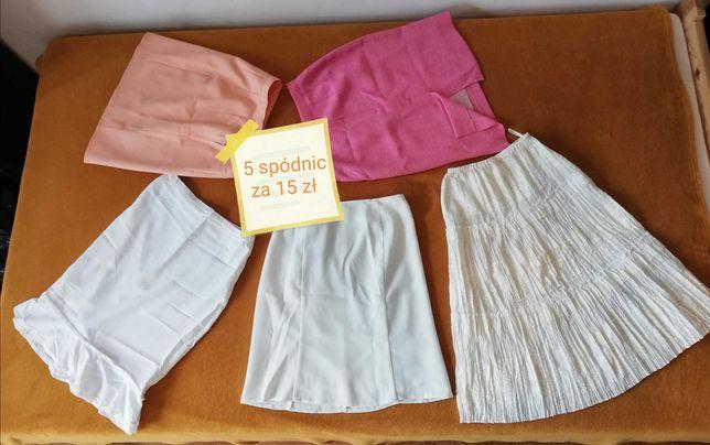 Zestaw spódnic, 5x spódnica