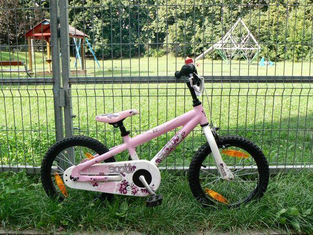 """Rower dziecięcy 16"""" SCOTT Contessa dla dziewczynki / bardzo ładny stan"""