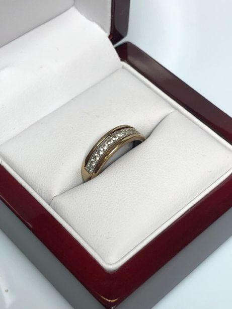 piękny złoty pierścionek 333 1,79g