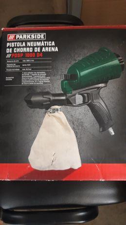 Pistola pneumática areia Parkside