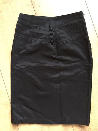 Czarna spódniczka ołówkowa r.36-nowa