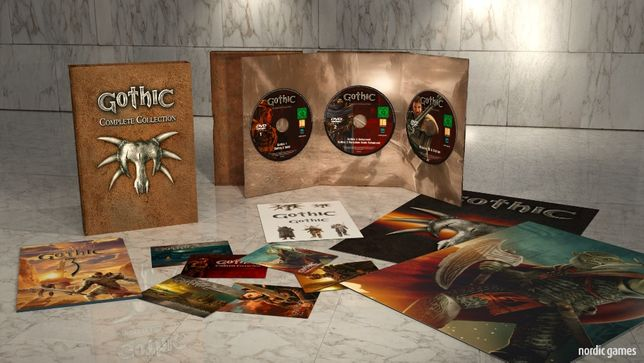 Gothic Complete Collection Gra Komputerowa na PC Rare