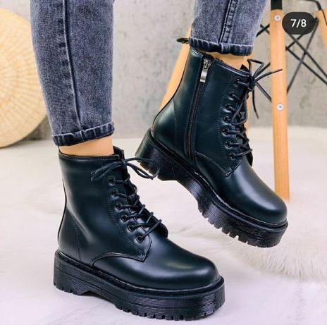 зимові високі черевики, під Мартінси