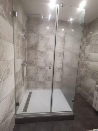 Kabina prysznicowa plus brodzik 120/90