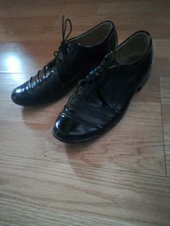 Pantofle czarne jak nowe!!!