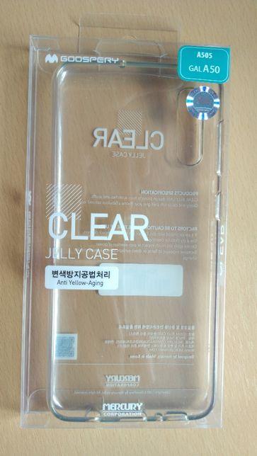 Etui Samsung A50 Clear Jelly Case