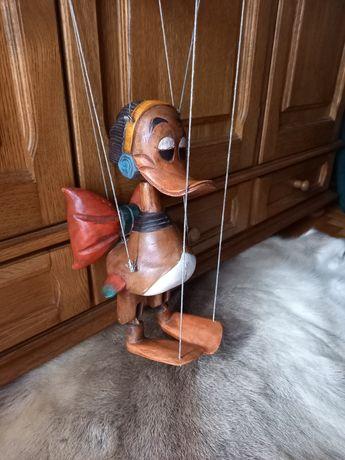 Kolekcjonerska marionetka drewniana