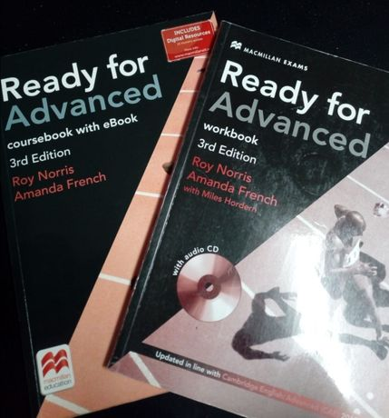 Ready for Advanced 3rd Edition MacMillan Education - Course&Workbooks