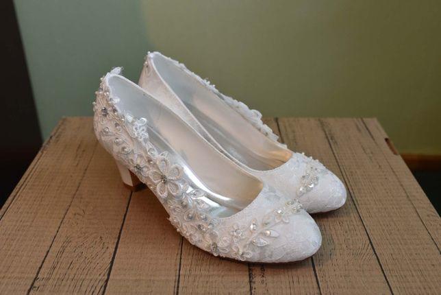 Buty ślubne rozm 38