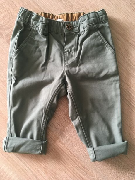 Spodnie Chino H&M rozmiar 74