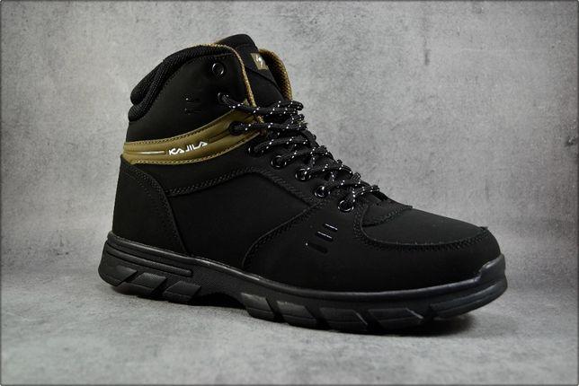 Зимние кроссовки Black Kajila, Зимние ботинки