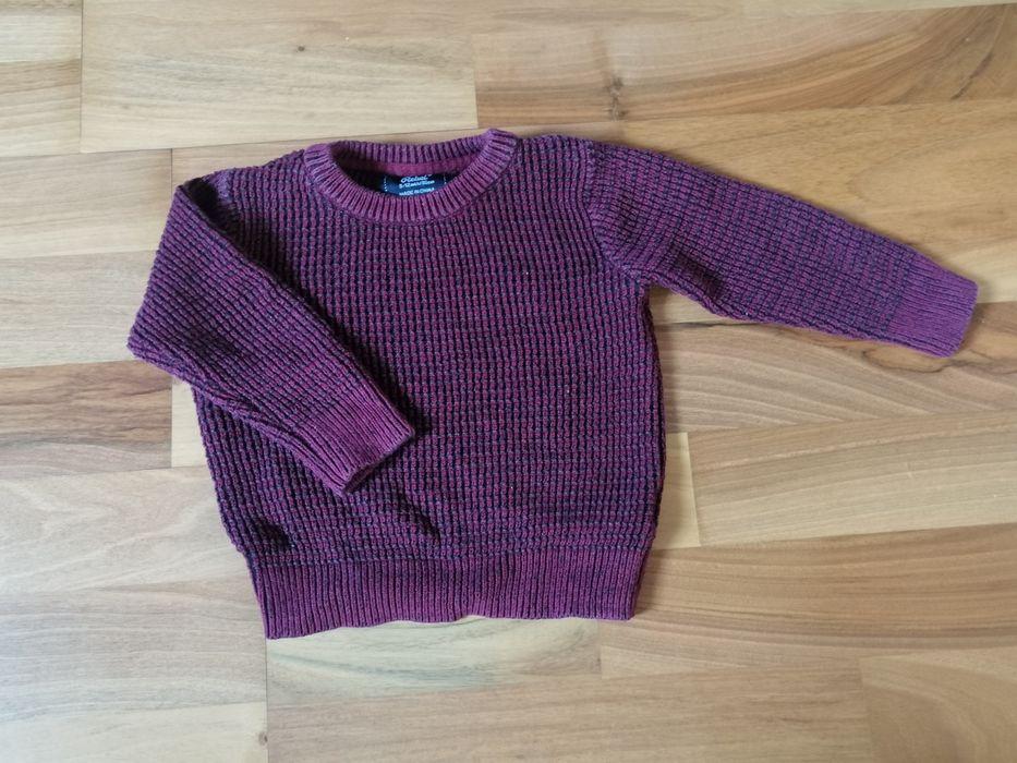 Sweterek bordowy Łódź - image 1