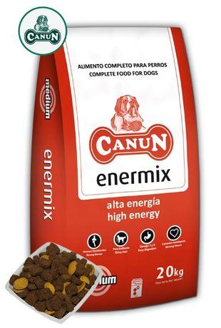 Karma dla psa CANUN ENERMIX dla psów aktywnych dorosłych 20 kg