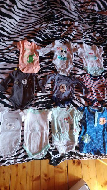 Ubranka niemowlęce różne rozmiary