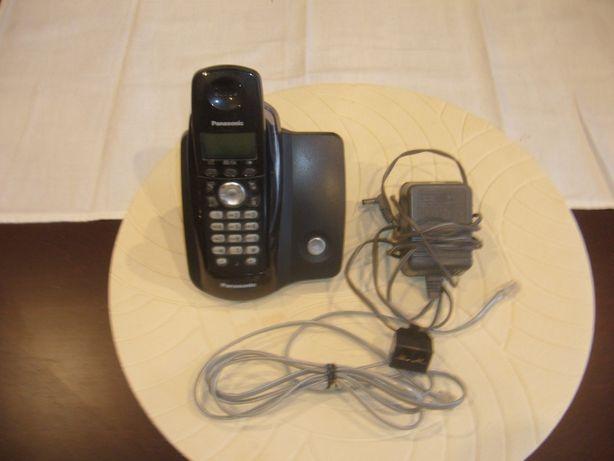 Telefon bezprzewodowy Panasonic.