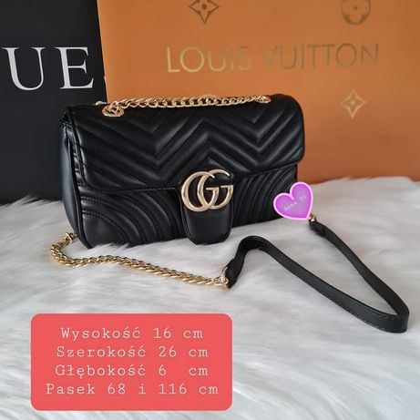 Torebka damska torba listonoszka Gucci eko skora premium