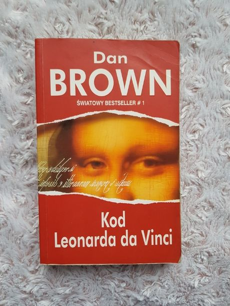 Dan Brown - Kod Leonarda da Vinci, książka literatura bestseller
