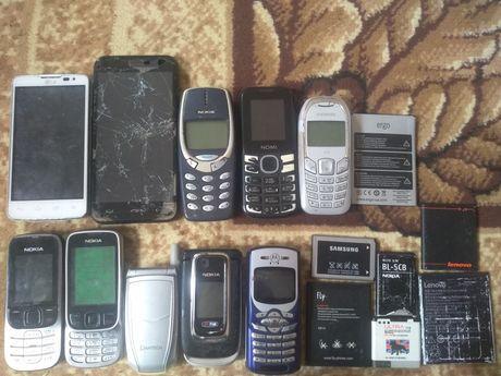 Продам лот телефонів