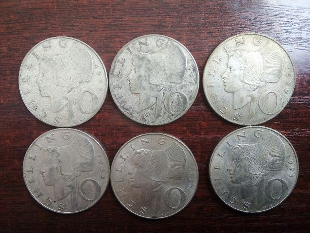 Moneta 10 schilling Austria