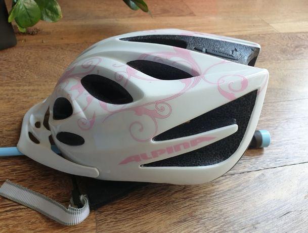 Kask dziewczęcy na rower, rolki. Alpina FBJunior