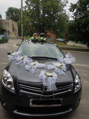 свадебные украшения на машину всего за 400гр