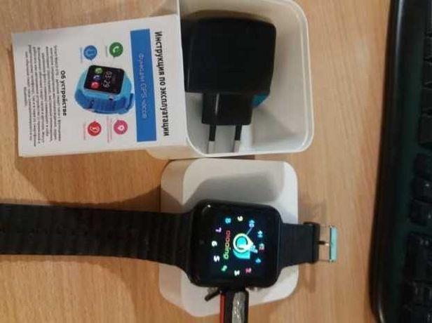 Смарт, голосовой обмен с камерой V7k Watch / часы детские, Sos вызов